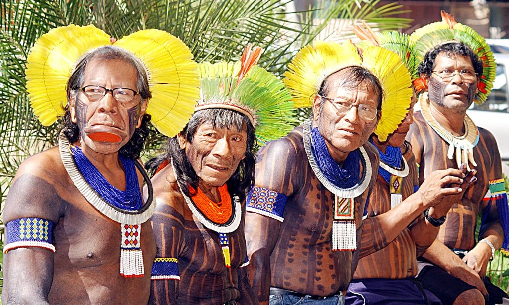 Tribal people of Brazil