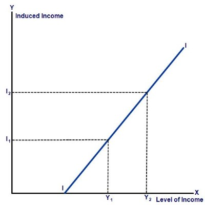 Induced Investment graph
