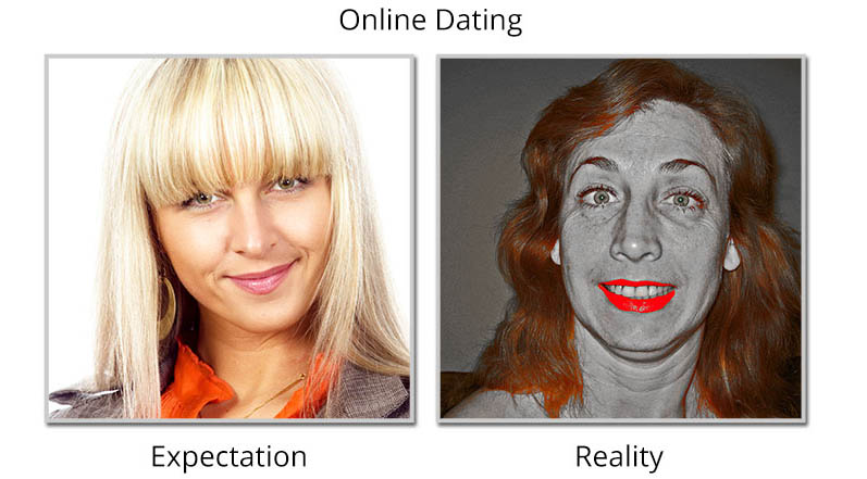 Expectation vs. Reality in online dating