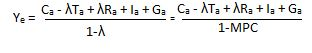 Second equilibrium equation